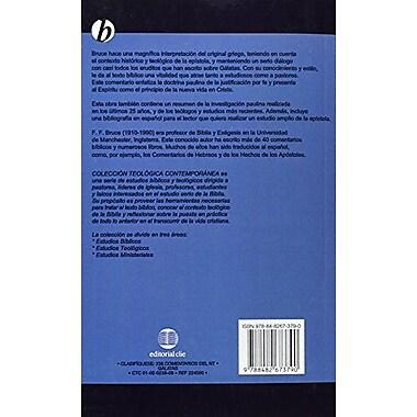Un comentario de la Epístola a los GAlatas(Coleccion Teologica Contemporanea: Estudios Biblicos, New Book (9788482673790)