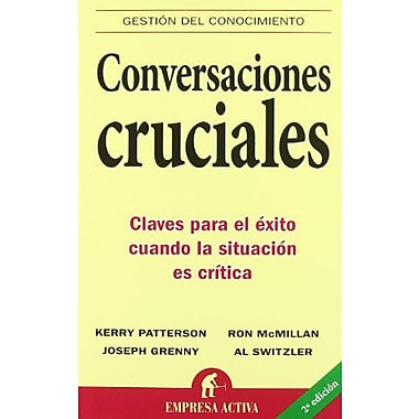 Conversaciones cruciales (Spanish Edition), Used Book (9788495787392)