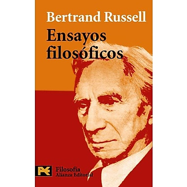 Ensayos filosoficos / Philosophical Essays (Humanidades/ Humanities) (Spanish Edition), New Book (9788420656229)