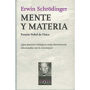 Mente Y Materia (Spanish Edition), Used Book (9788472236103)