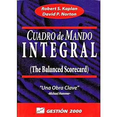 Cuadro de mando integral, Used Book (9788480881753)