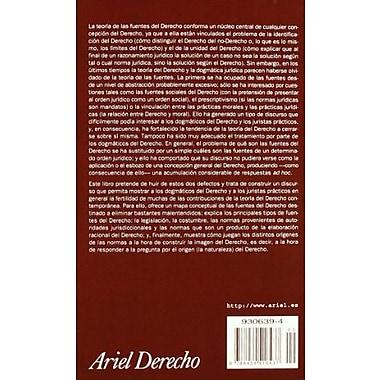 Teoria Gral. de las Fuentes del Derecho (Ariel Derecho) (Spanish Edition), Used Book (9788434416437)