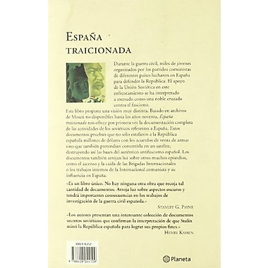 Espana Traicionada (Spanish Edition) (9788408044109)