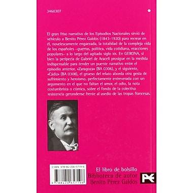 Gerona: Episodios nacionales (Biblioteca De Autor) (Spanish Edition), Used Book (9788420657196)
