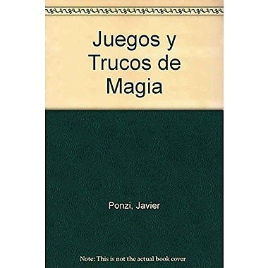 Juegos y trucos de magia / Games and magic tricks (Spanish Edition), New Book (9789505075676)