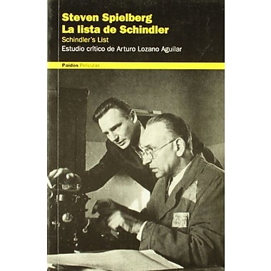 Steven Spielberg. La Lista De Schindler / Steven Spielberg: Schindler's List(Paidos Peliculas / Films), New Book (9788449311420)