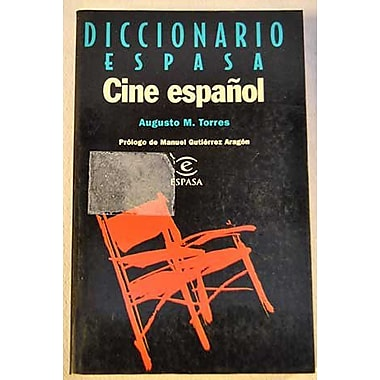 Diccionario Espasa Cine Espanol (Spanish Edition), New Book (9788423992416)