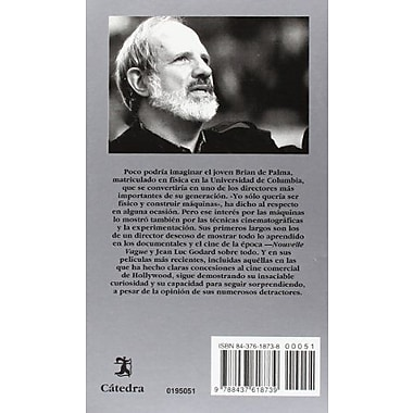 Brian de Palma / Brian of Palma (Signo E Imagen / Sign and Image) (Spanish Edition), New Book (9788437618739)