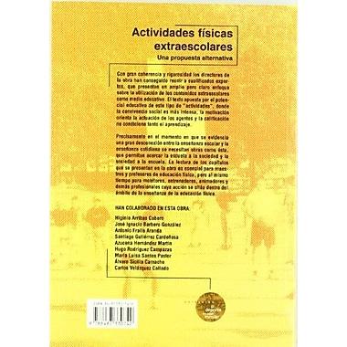 Actividades Físicas Extraescolares: Una propuesta alternativa (Spanish Edition), New Book (9788487330742)