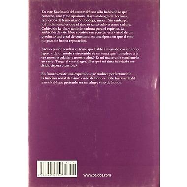 Diccionario del amante del vino/ The Wine Lover's Dictionary (Spanish Edition), New Book (9788449320705)