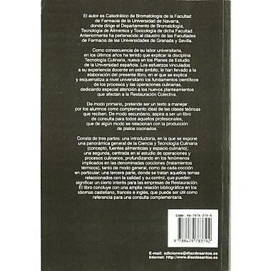 Ciencia y tecnología culinaria (Spanish Edition), New Book (9788479783792)