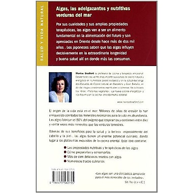 Algas - Las Verduras del Mar (Salud Y Vida Natural) (Spanish Edition) (9788475560755)