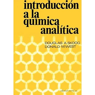 Introducción a la química analítica (Spanish Edition) (9788429175110)