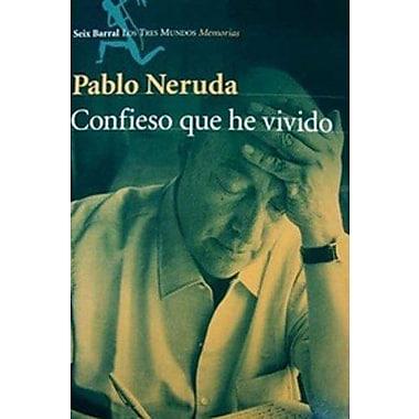 Confieso Que He Vivido (Spanish Edition), New Book (9789507312588)