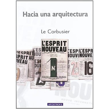 Hacia una Arquitectura (Spanish Edition), Used Book (9788445502778)