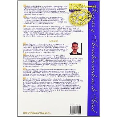 Sensores y acondicionadores de senal (Spanish Edition), Used Book (9788426713445)