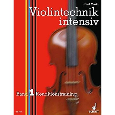 INTENSIVE VIOLIN TECHNIQUE VOLUME 1, New Book (9790001120708)