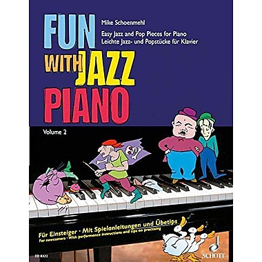 FUN WITH JAZZ PIANO VOL. 2, New Book (9790001115049)