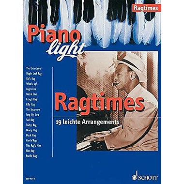RAGTIMES - 19 EASY ARRANGEMENTS PIANO, Used Book (9783795753948)