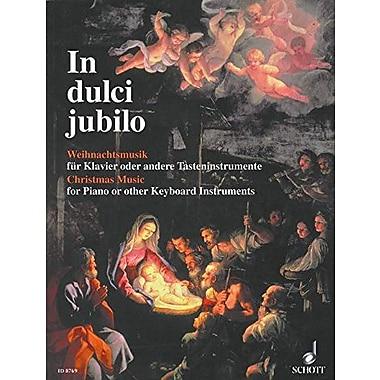 In Dulci Jubilo Weihnachtsmusik fur Klavier oder andere Tasteninstrumente / Christmas Music for Piano , New Book (9783795753498)