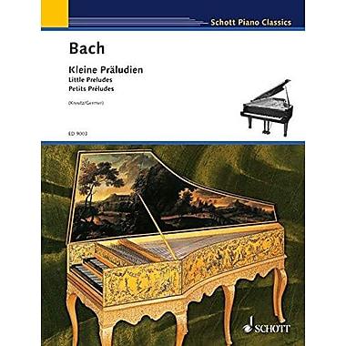KLEINE PRALUDIEN (LITTLE PRELUDES) PIANO (Schott Piano Classics) (9783795752699)