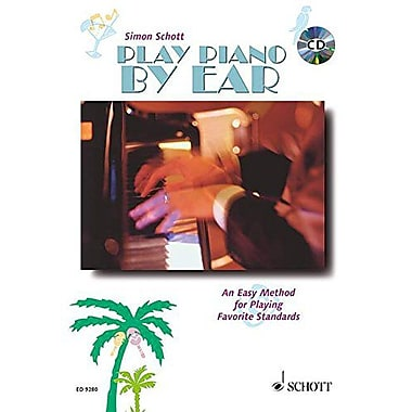 Play Piano By Ear (Book & CD), New Book (9783795755195)