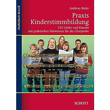 PRAXIS KINDERSTIMMBILDUNG 123 SONGS AND CANONS TEXT, Used Book (9783795787264)