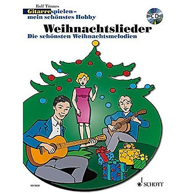 GUITAR PLAYING CHRISTMAS SONGS METHOD GUITAR GERMAN TEXT BOOK AND CD, New Book (9790001135160)