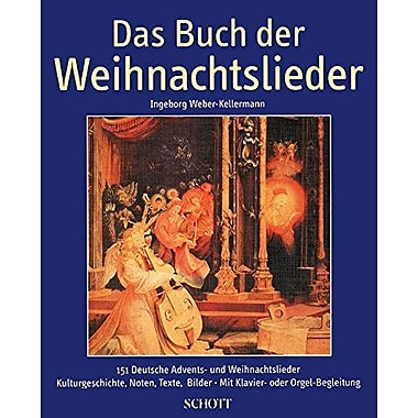 BOOK OF CHRISTMAS SONGS DAS BUCH DER WEIHNACHTSLIEDERHARDCOVER, New Book (9790001074117)