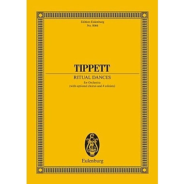 RITUAL DANCES FOR ORCHESTRA WITH OPTIONAL CHORUS AND 4 SOLOISTS STUDY SCORE (9783795764180)
