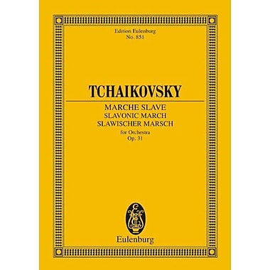 SLAVONIC MARCH OP31 STUDY SCORE (Edition Eulenburg No. 851) (9783795769529)