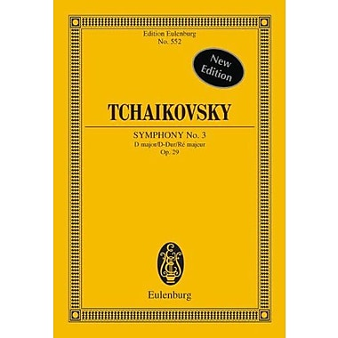 SYMPHONY NO3 OP.29 D MAJOR POLISH STUDY SCORE, New Book (9783795766603)