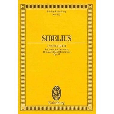 Violin Concerto, Op. 47: in D minor (Edition Eulenburg), Used Book (9783795762513)
