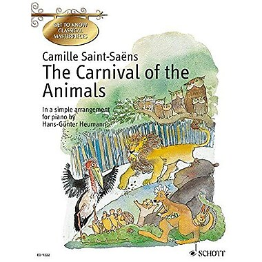 The Carnival of the Animals: In a Simple Arrangement for Piano, Used Book (9790001127813)