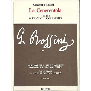 La Cenerentola: Vocal Score (2 Volume Set), New Book (9788875927011)