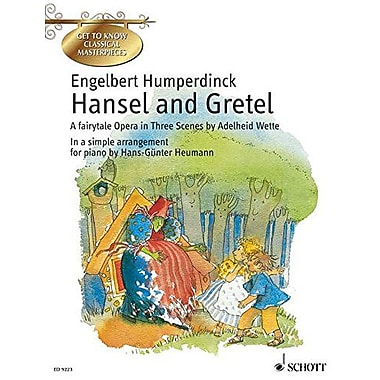 HANSEL AND GRETEL SIMPLIFIED PIANO SOLO GET TO KNOW CLASSICAL MSTRPCS, New Book (9783795755942)