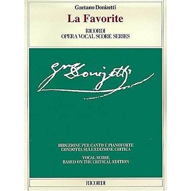 La Favorita: Vocal Score, Used Book (9788875926670)