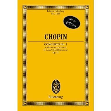 PIANO CONCERTO NO1 OP11 E MINOR PIANO/ORCHESTRA SCORE, New Book (9783795761370)