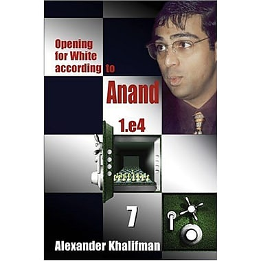 Opening for White according to Anand 1.e4, Volume 7 (Repertoire Books), Used Book (9789548782463)