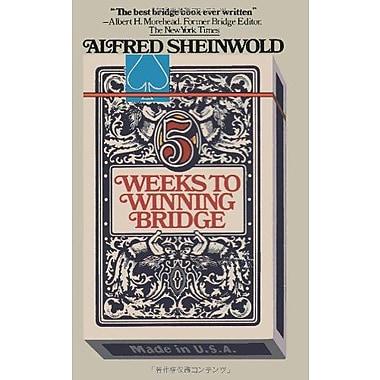 5 Weeks to Winning Bridge, New Book (9784871876094)