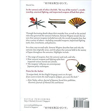 Samurai Weapons: Tools of the Warrior, Used Book (9784805309582)