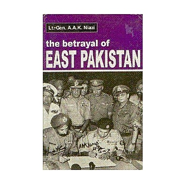 The Betrayal of East Pakistan, Used Book (9788173042560)