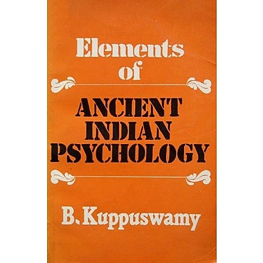 Elements of Ancient Indian Psychology, New Book (9788122001662)