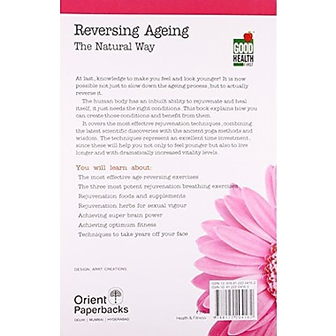 Reversing Ageing: The Natural Way, Used Book (9788122204162)