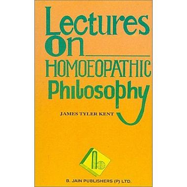 Lectures on Homoeopathic Philosophy (9788170211792)