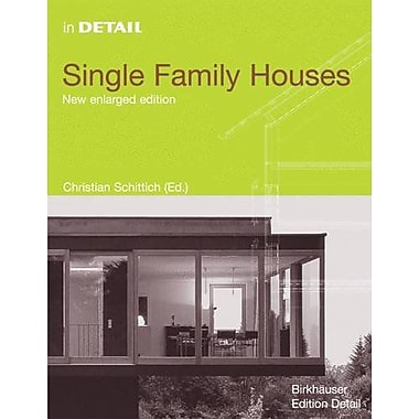 In Detail: Single Family Houses (In Detail (englisch)), New Book (9783764372774)
