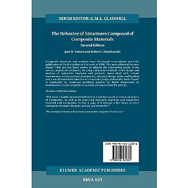 The Behavior of Structures Composed of Composite Materials (Solid Mechanics and Its Applications), Used Book (9789048161331)
