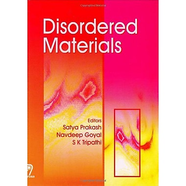 Disordered Materials, New Book (9788173194634)