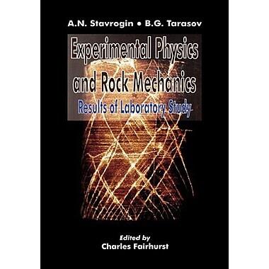 Experimental Physics & Rock Mechanics (9789058092137)