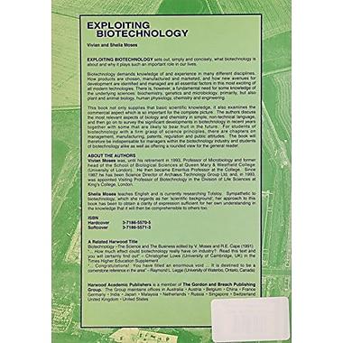 Exploiting Biotechnology (9783718655717)
